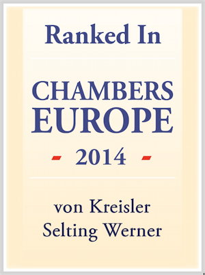 Chambers Europe Award