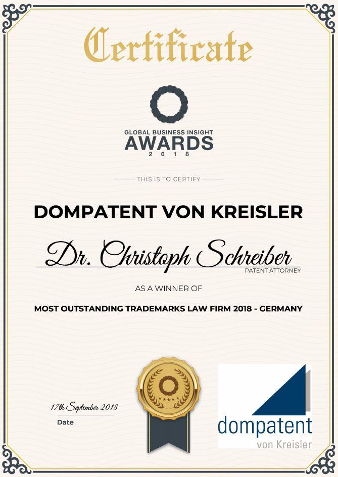 2018_Global Business - Dr. Christoph Schreiber