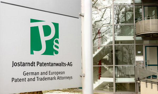 Kooperation Jostarndt Patentanwalts AG